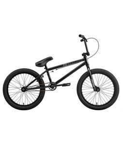 Eastern Piston BMX Bike Gloss Black w/ Black Rims 20in