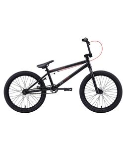 Eastern Piston BMX Bike Matte Black w/  Black Rims 20in