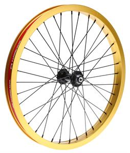 Eastern Venus Front 36H BMX Wheel Gold 20