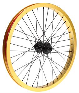 Eastern Venus Rear 36H 9T BMX Wheel Gold 20