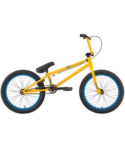 Eastern Vulture BMX Bike Gloss Yellow w/ Cyan Blue Rims 20in/20.25in Top Tube