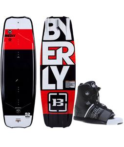 Byerly Monarch Wakeboard w/ Liquid Force Element Bindings