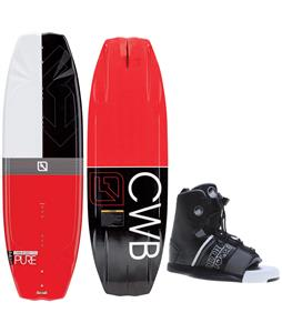CWB Pure Wakeboard w/ Liquid Force Element Bindings