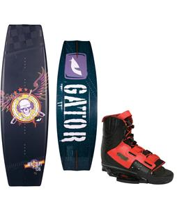 Gator Boards Militant Wakeboard w/ Byerly Verdict Bindings