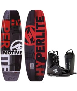 Hyperlite Motive Blem Wakeboard w/ Frequency Bindings