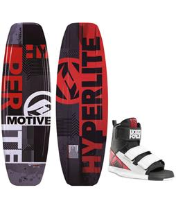 Hyperlite Motive Blem Wakeboard w/ Liquid Force Domain Bindings