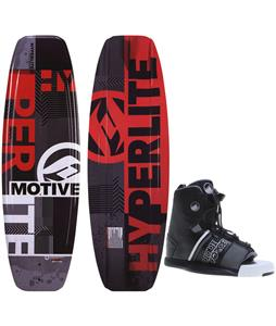Hyperlite Motive Blem Wakeboard w/ Liquid Force Element Bindings