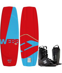 Hyperlite Webb Wakeboard w/ Frequency Bindings