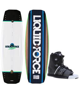 Liquid Force Deluxe Wakeboard w/ Hyperlite Frequency Bindings