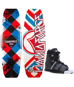 Liquid Force Fusion Wakeboard w/ Element Bindings
