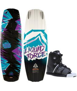 Liquid Force Harley Grind Wakeboard w/ Hyperlite Frequency Bindings