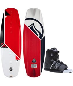 Liquid Force Omega Grind Wakeboard w/ Hyperlite Frequency Bindings