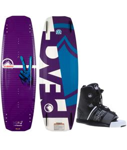 Liquid Force Peak Wakeboard w/ Hyperlite Frequency Bindings