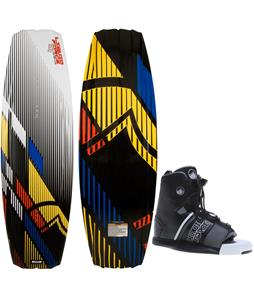 Liquid Force S4 Wakeboard w/ Hyperlite Frequency Bindings