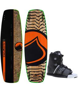 Liquid Force Slab Blem Wakeboard O'Brien GTX Bindings