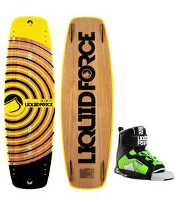 Liquid Force Slab Wakeboard w/ Rant Bindings