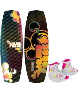 Liquid Force Star Grind Wakeboard w/ Ronix August Bindings