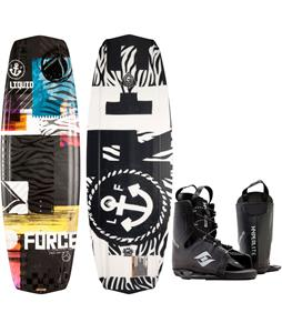 Liquid Force Witness Grind Wakeboard w/ Hyperlite Frequency Bindings