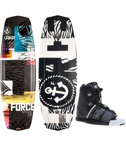 Liquid Force Witness Grind Wakeboard w/ Element Bindings
