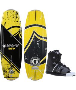 Liquid Force Wake Park Rookie LTR Wakeboard w/ Element Bindings