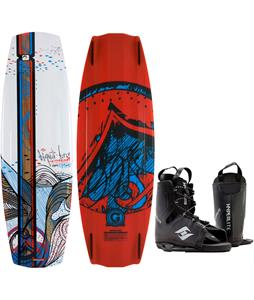 Liquid Force Watson Hybrid Wakeboard w/ Hyperlite Frequency Bindings