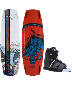 Liquid Force Watson Hybrid Wakeboard O'Brien GTX Bindings