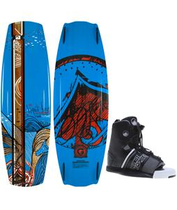 Liquid Force Watson LTD Hybrid Wakeboard O'Brien GTX Bindings