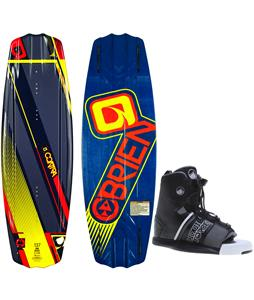 O'Brien Contra Wakeboard w/ Liquid Force Element Bindings