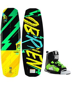 O'Brien Fremont Blem Wakeboard w/ Liquid Force Rant Bindings
