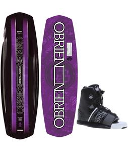 O'Brien Paradigm Wakeboard Blem O'Brien GTX Bindings