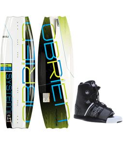 O'Brien System Wakeboard w/ Liquid Force Element Bindings