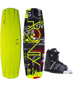 Ronix One ATR S Blem Wakeboard w/ Liquid Force Element Bindings