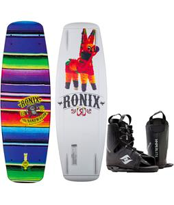 Ronix Bandwagon Camber ATR Wakeboard w/ Hyperlite Frequency Bindings