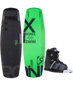 Ronix Parks Camber Air Core 2 Illuminati Wakeboard w/ Liquid Force Element Bindings