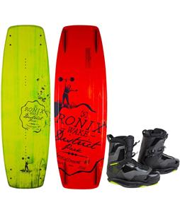 Ronix District Park Wakeboard w/ Code 55 Wakeboard Boots