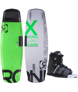 Ronix Parks Camber ATR Wakeboard w/ Liquid Force Element Bindings