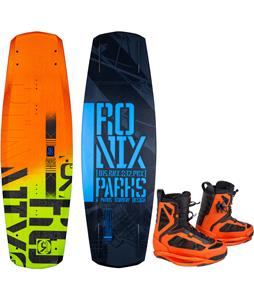 Ronix Parks Camber ATR Wakeboard w/ Parks Wakeboard Boots