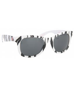 Electric Detroit Sunglasses White Wild Things/Grey Lens
