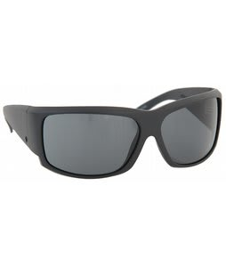 Electric Hoy Sunglasses Black Matte/Grey Lens