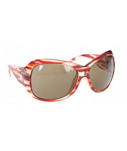 Electric Mayday Sunglasses Red Stripe/Bronze Lens