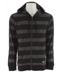 Electric Alley Zip Up Hoodie Black