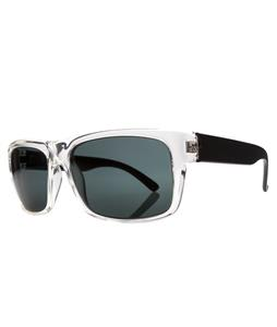 Electric Back Line Sunglasses Black Crystal/Melanin Grey Lens