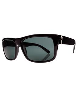 Electric Back Line Sunglasses Gloss Black/Melanin Grey Polarized Lens
