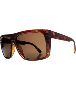 Electric Black Top Sunglasses Tortoise Shell/M Bronze Lens