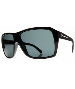 Electric Capt. Ahab Sunglasses Gloss Black/Grey Lens