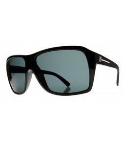 Electric Capt. Ahab Sunglasses Gloss Black/Grey PC Polarized Lens