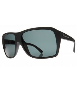Electric Capt. Ahab Sunglasses Matte Black/Grey Lens