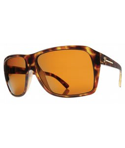 Electric Capt. Ahab Sunglasses Matte Tortoise Shell/Bronze Lens