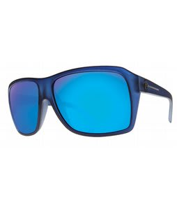 Electric Capt. Ahab Sunglasses Ultra Marine/Grey Blue Chrome Lens
