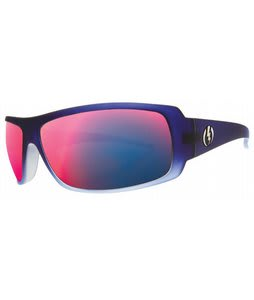 Electric Charge Sunglasses Denim Blue/Grey Plasma Chrome Lens
